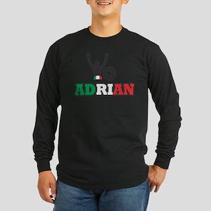 Yo Adrian Long Sleeve Dark T-Shirt