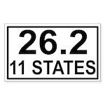 262in11 Sticker (Rectangle 10 pk)