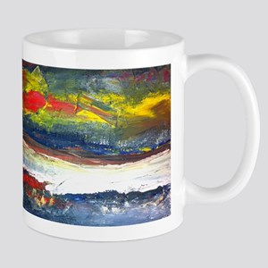 Original Abstract Painting of the River Styx Mug