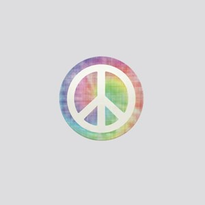 Peace Sign Mini Button
