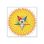 """OES In the Sun Square Sticker 3"""" x 3"""""""