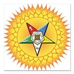 "OES In the Sun Square Car Magnet 3"" x 3"""