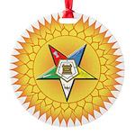 OES In the Sun Round Ornament