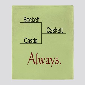 Beckett Castle Caskett Always Throw Blanket