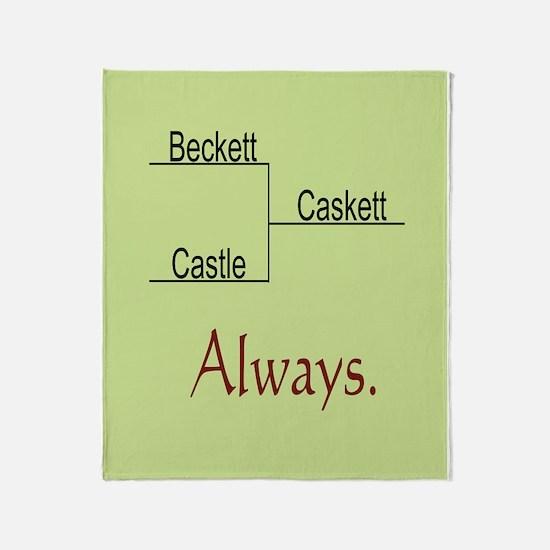 Beckett Castle Caskett Always Throw Blanket