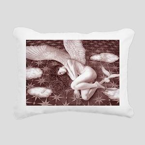 Fallen Angel Rectangular Canvas Pillow