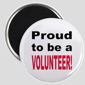 Proud Volunteer Magnet
