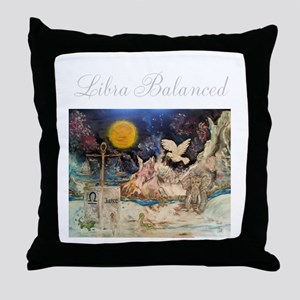 Zodiac Sign Throw Pillow