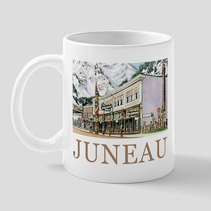 Juneau Old Witch Totem Nugget Shop Mug