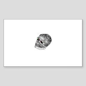skullie Sticker (Rectangle)