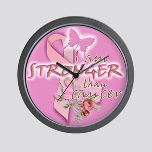 I am STRONGER than cancer: Wall Clock