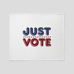 Just VOTE Throw Blanket