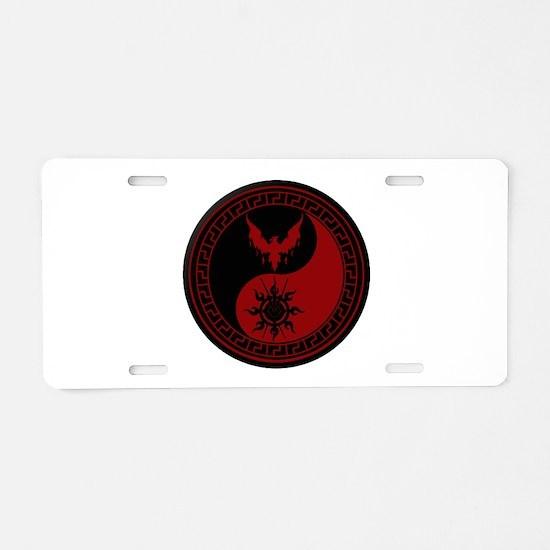 House of Didymos Aluminum License Plate