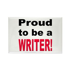 Proud Writer Rectangle Magnet