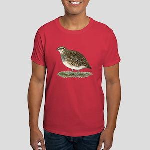 Coturnix Quail Hen Dark T-Shirt