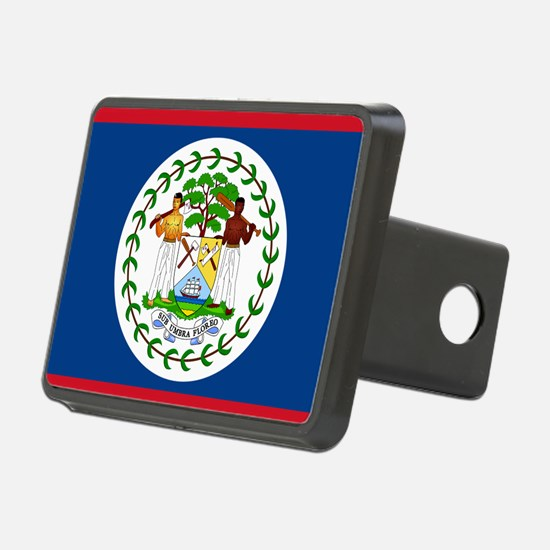 Flag of Belize Hitch Cover