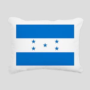 Flag of Honduras Rectangular Canvas Pillow