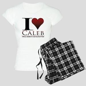 I Heart Caleb Women's Light Pajamas