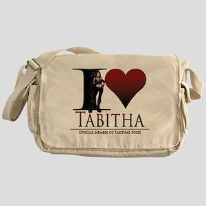 I Heart Tabby Messenger Bag