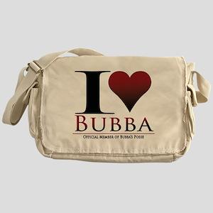 I Heart Bubba Messenger Bag