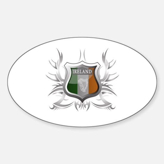 Irish pride Oval Decal