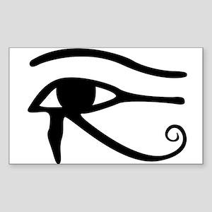 Eye Of Horus Sticker (Rectangle)