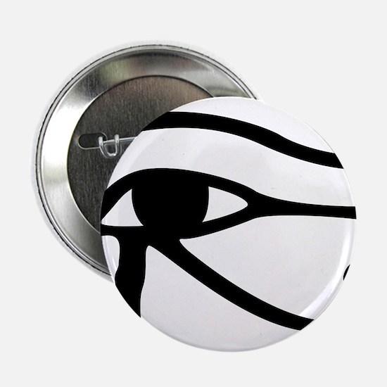 """Eye Of Horus 2.25"""" Button"""