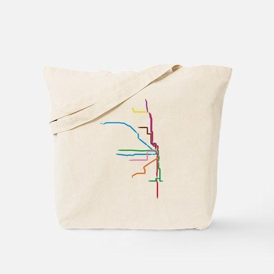 Cute Chicago Tote Bag