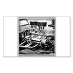 TWO FOURS Sticker (Rectangle 10 pk)