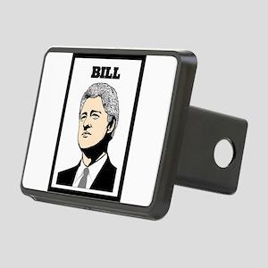 BILL CLINTON Rectangular Hitch Cover