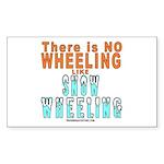 Snow Wheeling Sticker (Rectangle 10 pk)