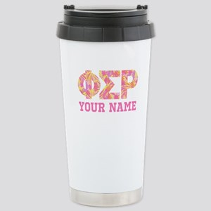 Phi Sigma Rho Let 16 oz Stainless Steel Travel Mug