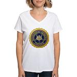 Governor-General of Korea Women's V-Neck T-Shirt