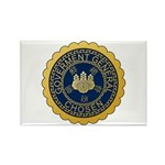 Governor-General of Korea Rectangle Magnet (100 pa