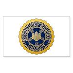 Governor-General of Korea Sticker (Rectangle 10 pk