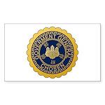 Governor-General of Korea Sticker (Rectangle 50 pk