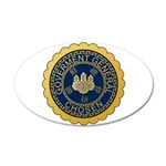 Governor-General of Korea 20x12 Oval Wall Decal