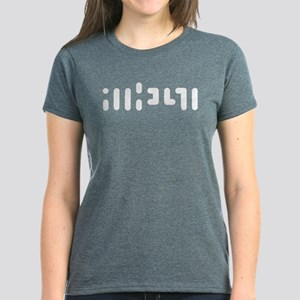 Atheist Text Women's Dark T-Shirt