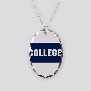 Animal House College Fraternity Frat Necklace Oval