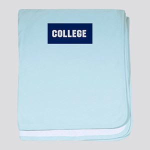 Animal House College Fraternity Frat baby blanket