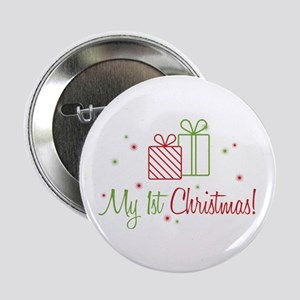 """My 1st Christmas 2.25"""" Button"""