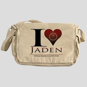 I Heart Jaden Messenger Bag