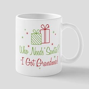 Santa I Got Grandma Mug