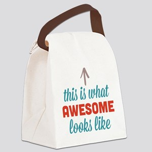 Awesome Looks Like Canvas Lunch Bag