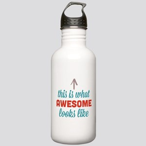 Awesome Looks Like Stainless Water Bottle 1.0L