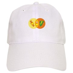 Candy Corn Venn Baseball Cap