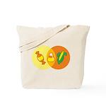 Candy Corn Venn Tote Bag