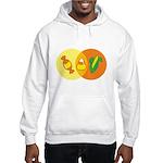 Candy Corn Venn Hooded Sweatshirt