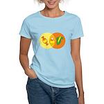 Candy Corn Venn Women's Light T-Shirt