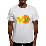 Candy Corn Venn Light T-Shirt